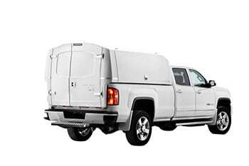 Commercial Wild truck cap and service body - Spacekap