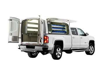 GMC equipped with Wild - All doors open