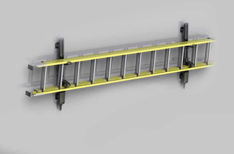 Durable And Secure Ladder Rack Systems For Truck Caps