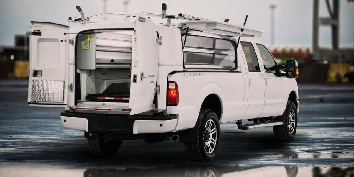 Gmc Commercial Trucks >> Commercial compak truck cap and service body - Spacekap