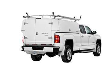 White GMC equipped with Compak